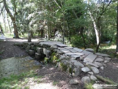 Vuelta al Senderismo-Valle Lozoya; alpedrete fotos visita castillo peñafiel parque natural fuentes c